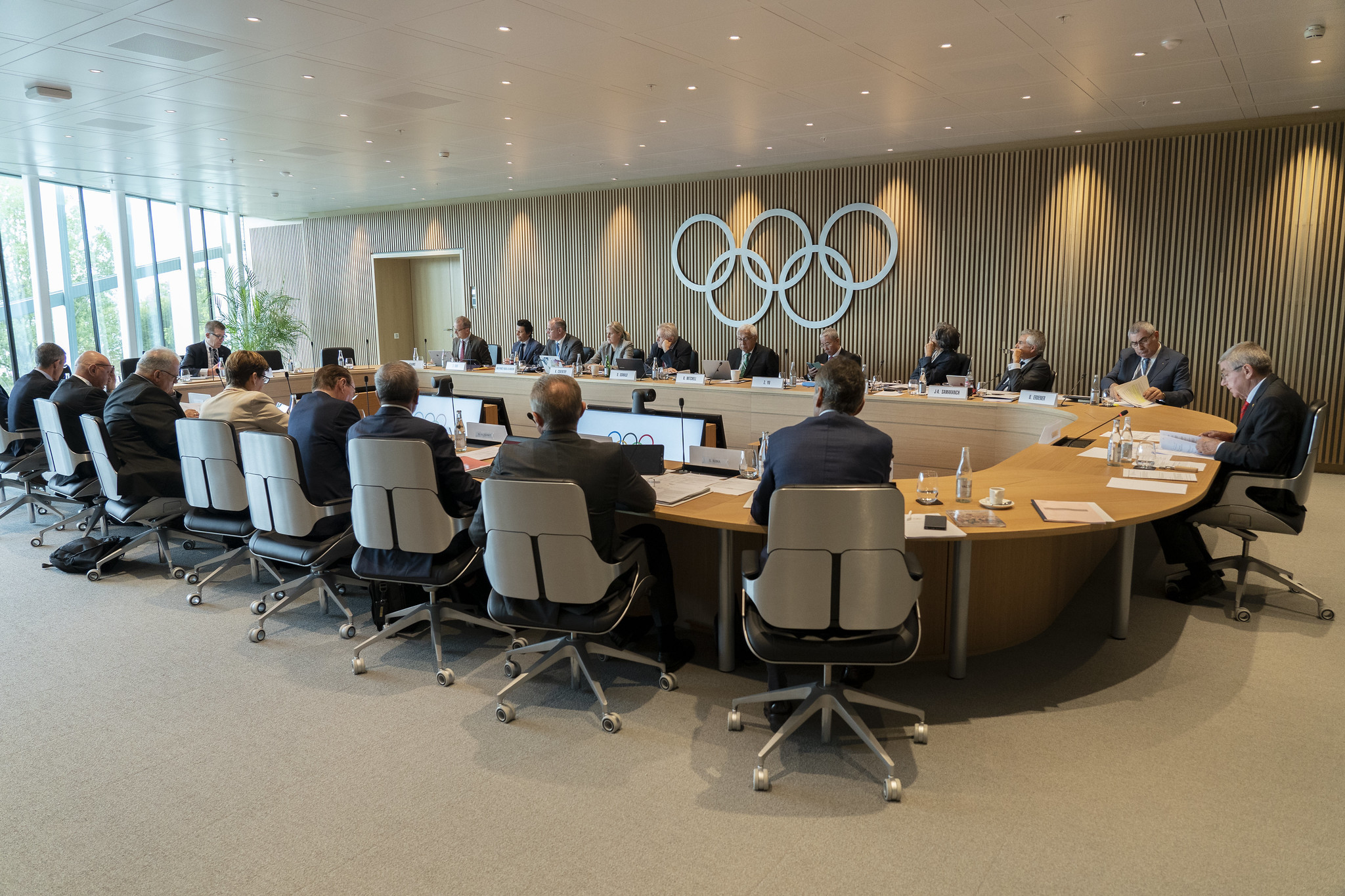 The International Olympic Committee's Executive Board cited good governance among the reasons for recommending the Alliance of Independent Recognised Members of Sport for full recognition ©IOC Media