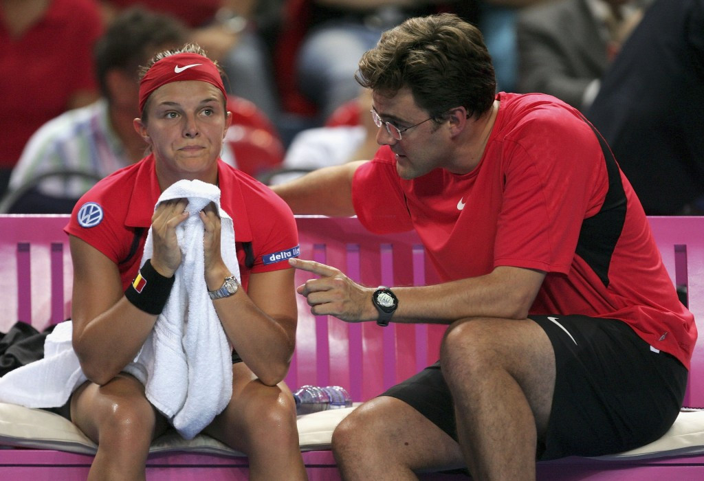 Former Belgium Fed Cup captain Carl Maes is one of the experts scheduled to speak