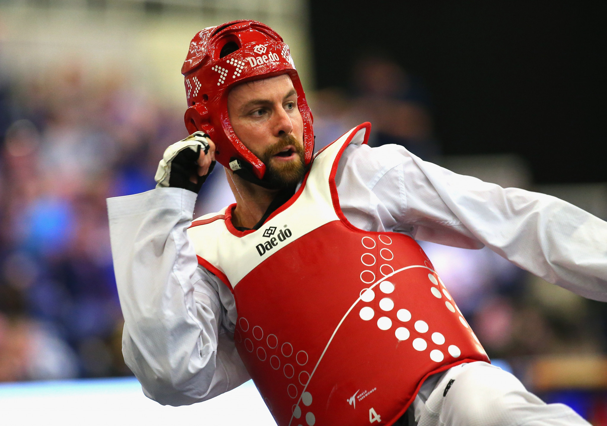 Damon Sansum finished his taekwondo career with a world silver and bronze ©Getty Images