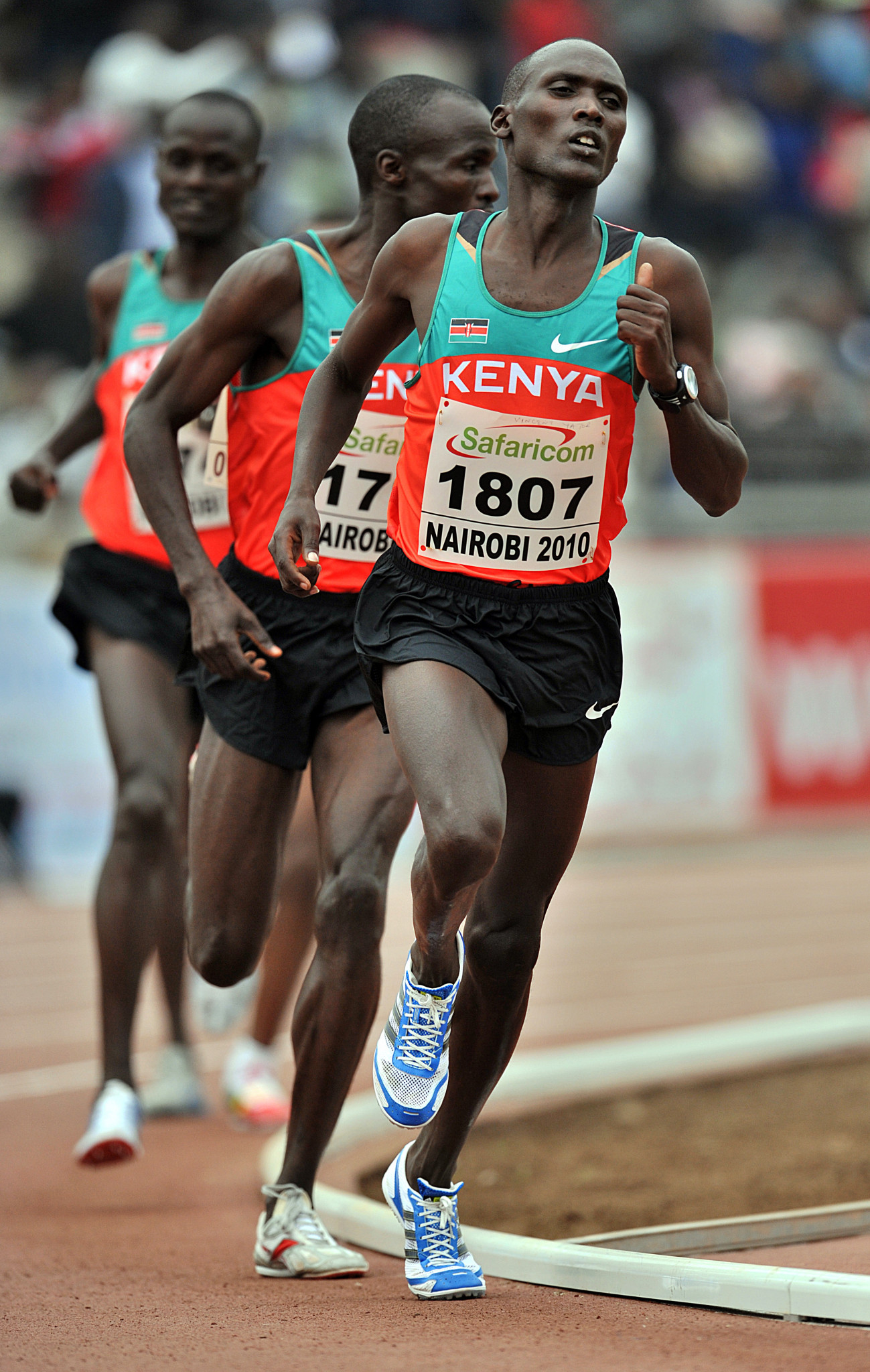 Vincent Kipsegechi Yator was a top track runner before turning to the marathon ©Getty Images