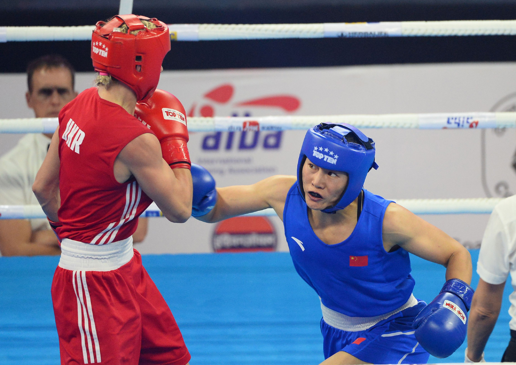 AIBA Women's World Championships: Day one of competition