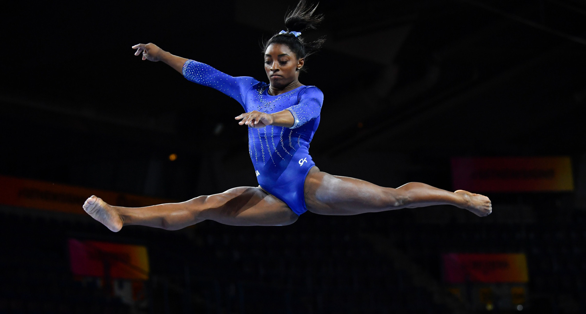 Biles on the brink of history at Artistic Gymnastics World Championships