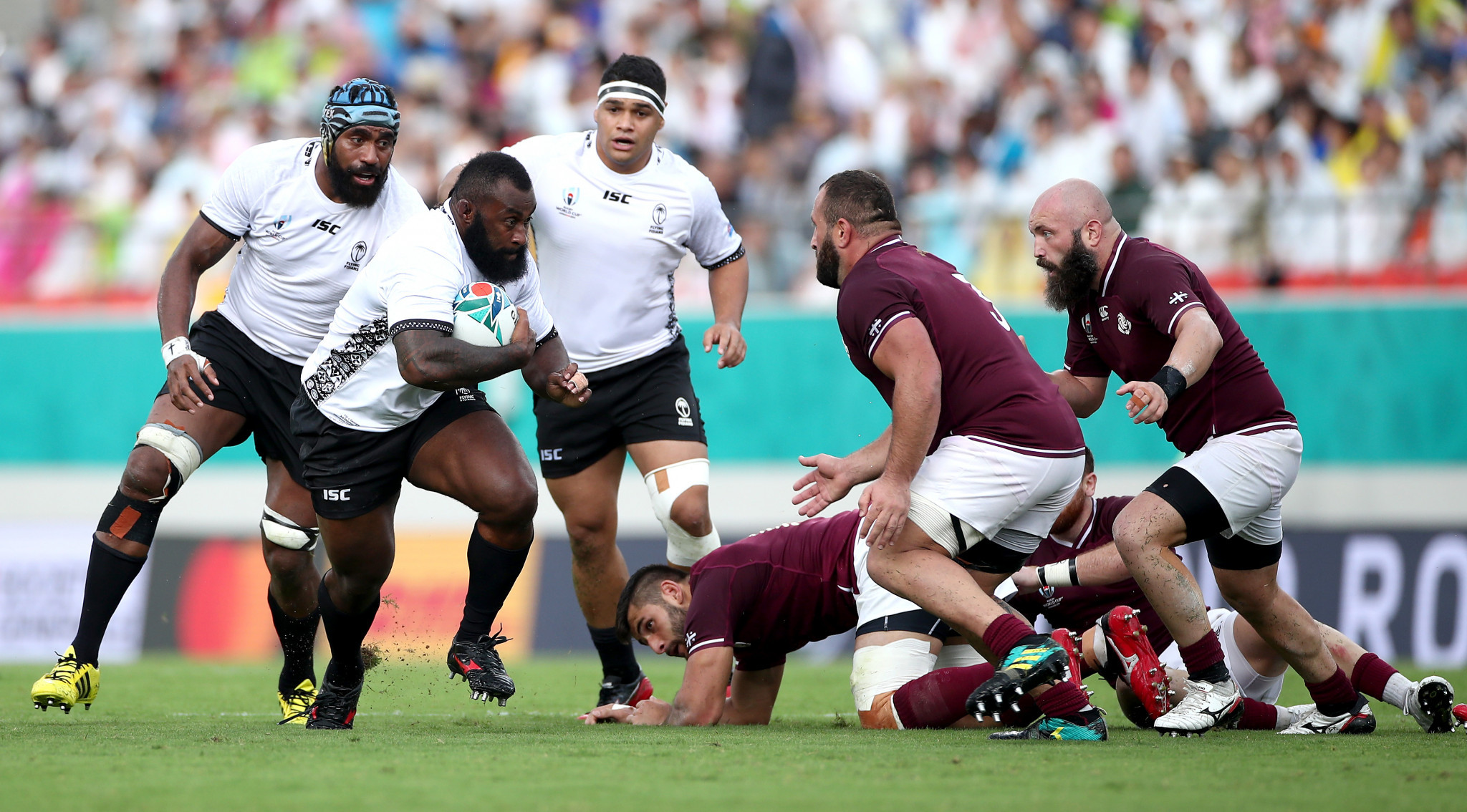Fiji had way too much power and speed for Georgia ©Getty Images