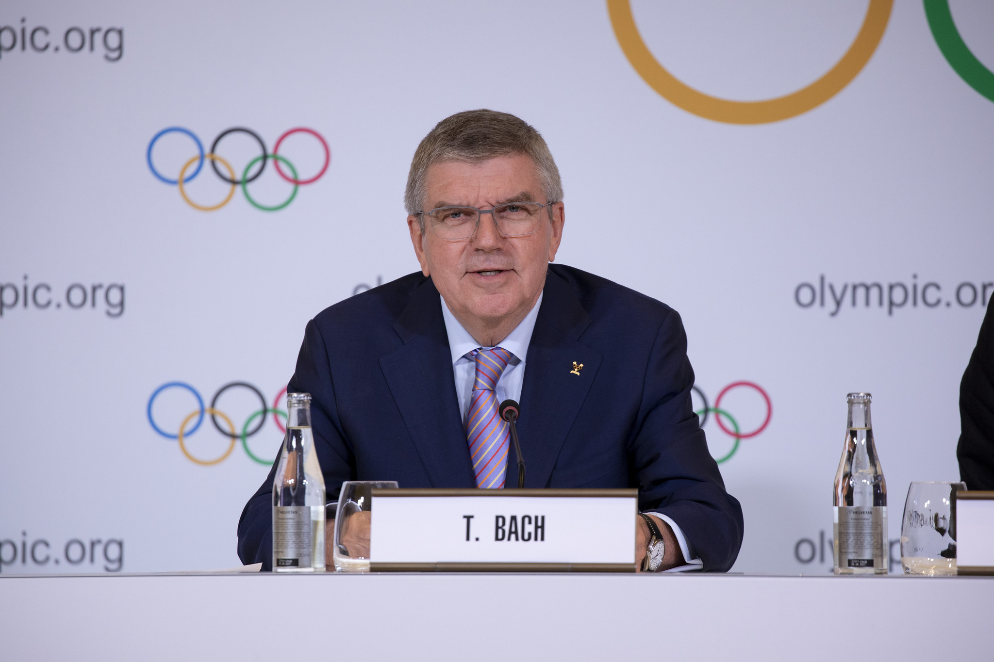 IOC President Bach confirms Tokyo 2020 to send heat countermeasures survey to International Federations and NOCs