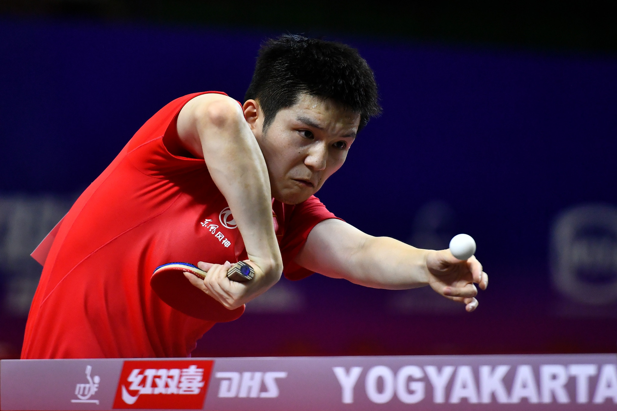 Fan Zhendong made a strong start to his bid for ITTF Swedish Open history this week as he won his opening round match ©Getty Images