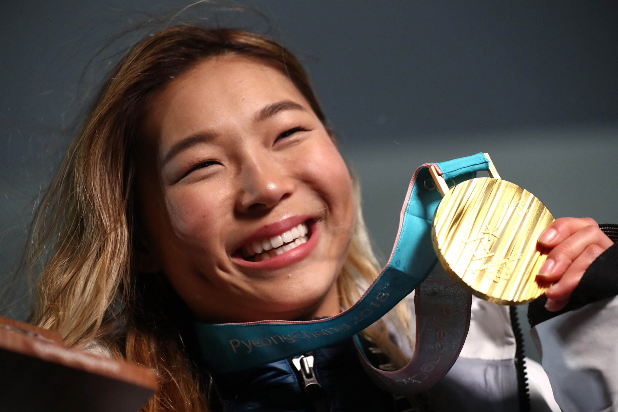 Kim became the youngest woman to win an Olympic snowboarding gold medal ©Getty Images
