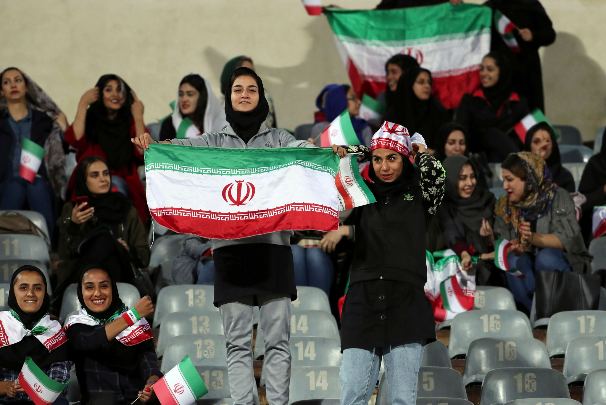 Iranian women have bought tickets to a FIFA World Cup qualifier ©Getty Images