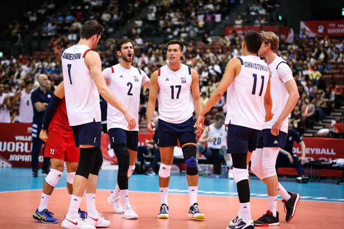 Defending champions United States beat Poland at FIVB Men's World Cup