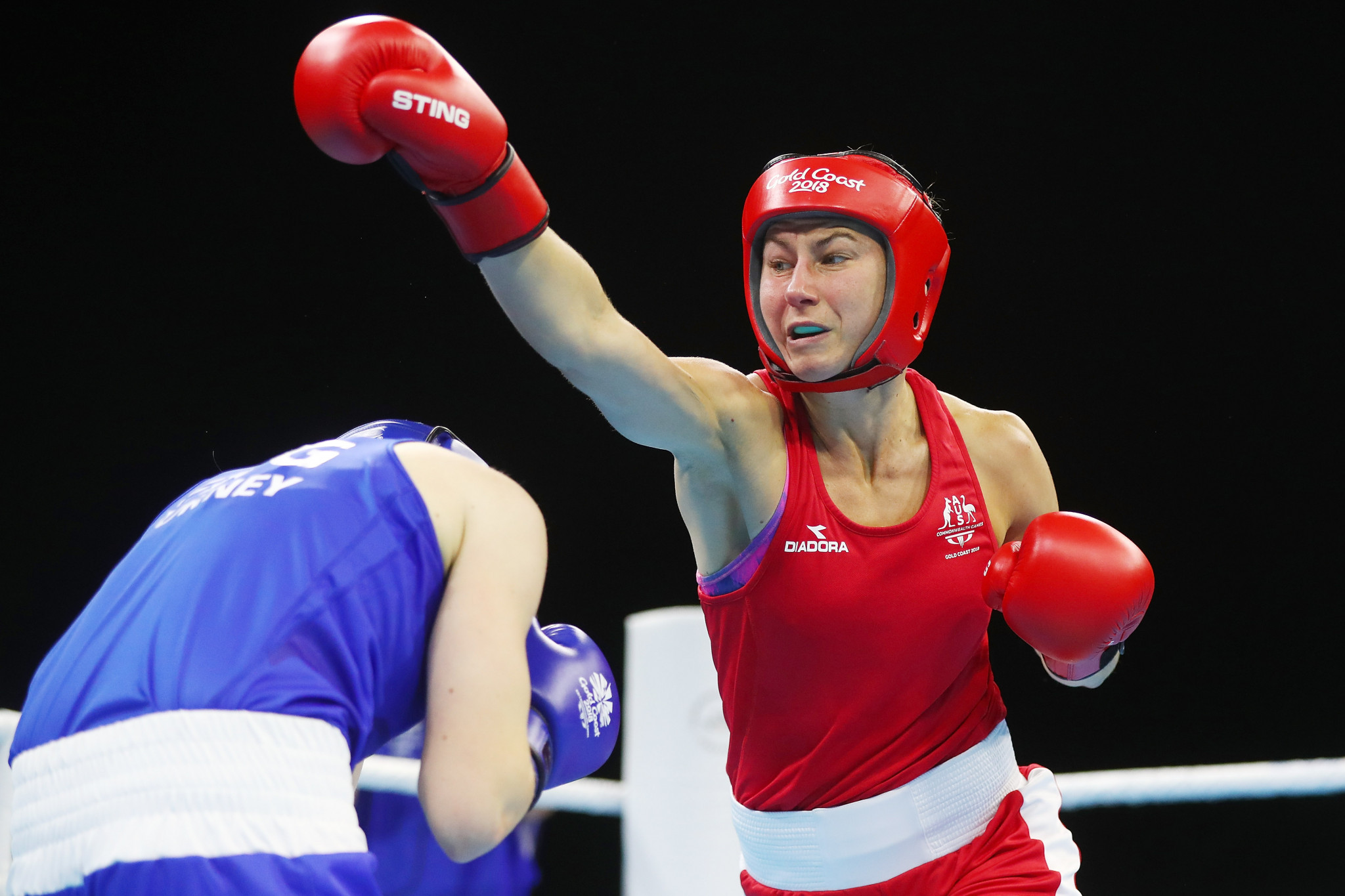 Australia's Commonwealth lightweight champion Anja Stridsman won her first bout of the World Championships ©Getty Images
