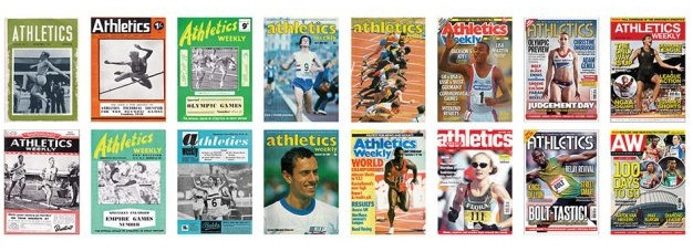 British magazine Athletics Weekly is among seven publications whose contribution to the sport has been marked by the award of a World Athletics Heritage Plaque ©IAAF