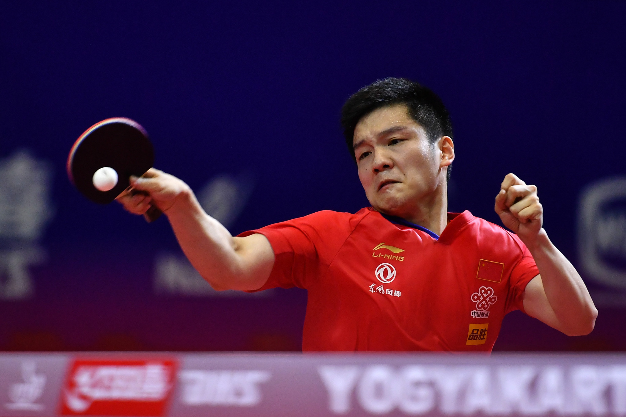 Fan Zhendong eased into the quarter-finals ©Getty Images