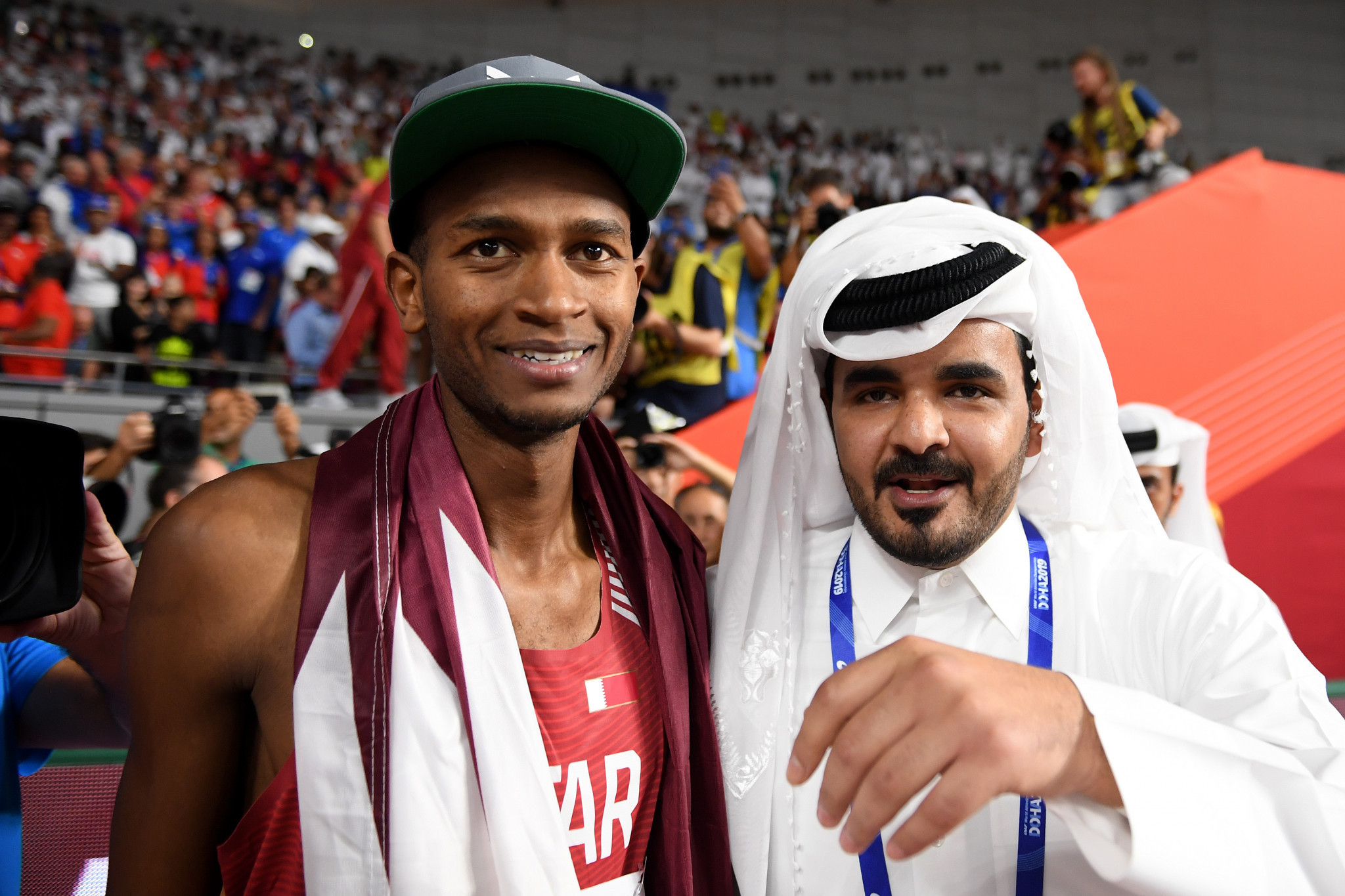 Barshim brings home the gold Qatar expected