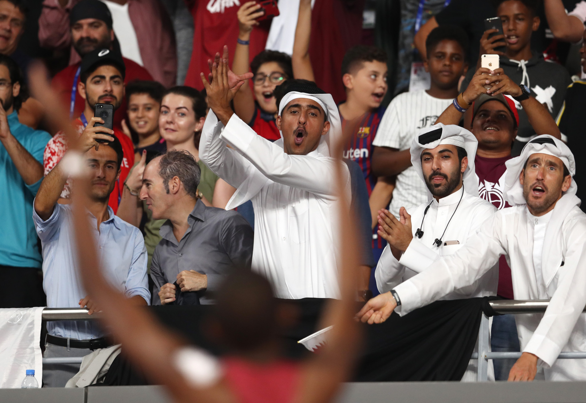 For fans in Doha it was the victory they had been hoping for - expecting even ©Getty Images