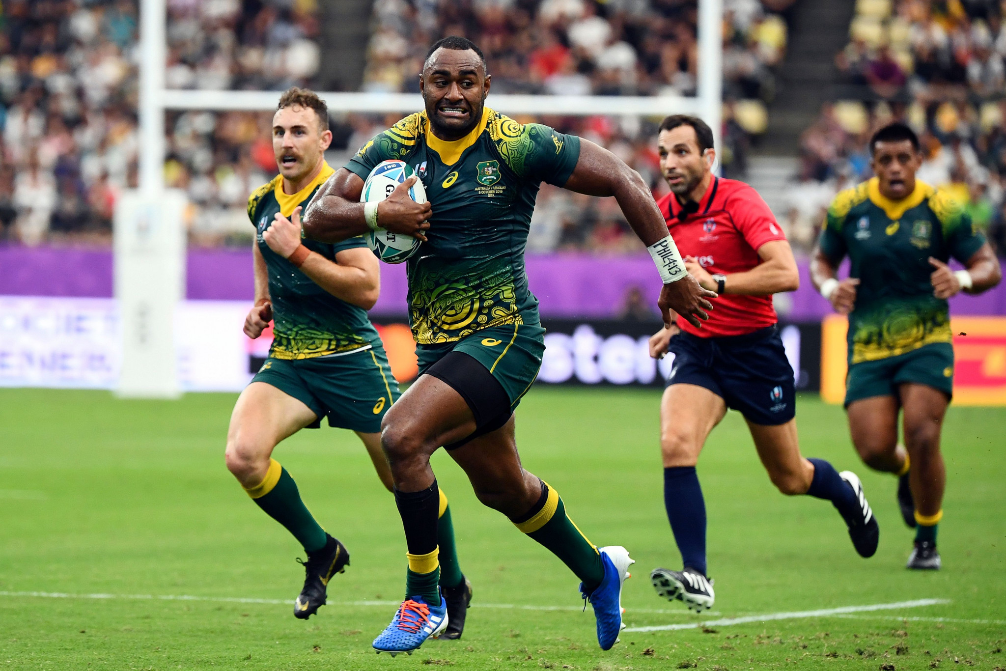 Australia's Tevita Kuridrani is an undoubted match-winner ©Getty Images
