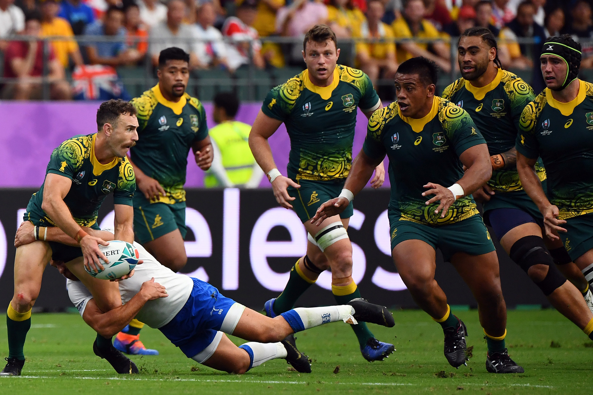Australia got their attacking mojo back against Uruguay ©Getty Images