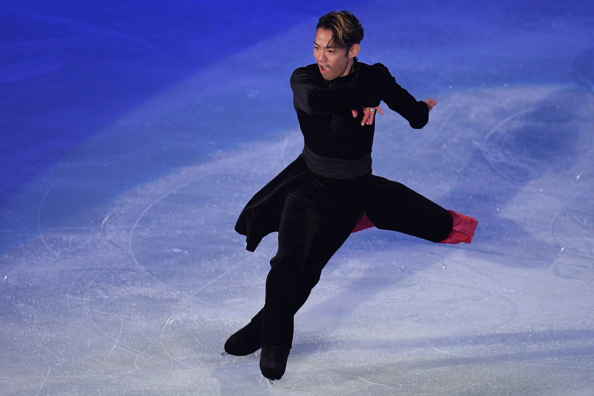 Daisuke Takahashi has always been the ultimate showman ©Getty Images
