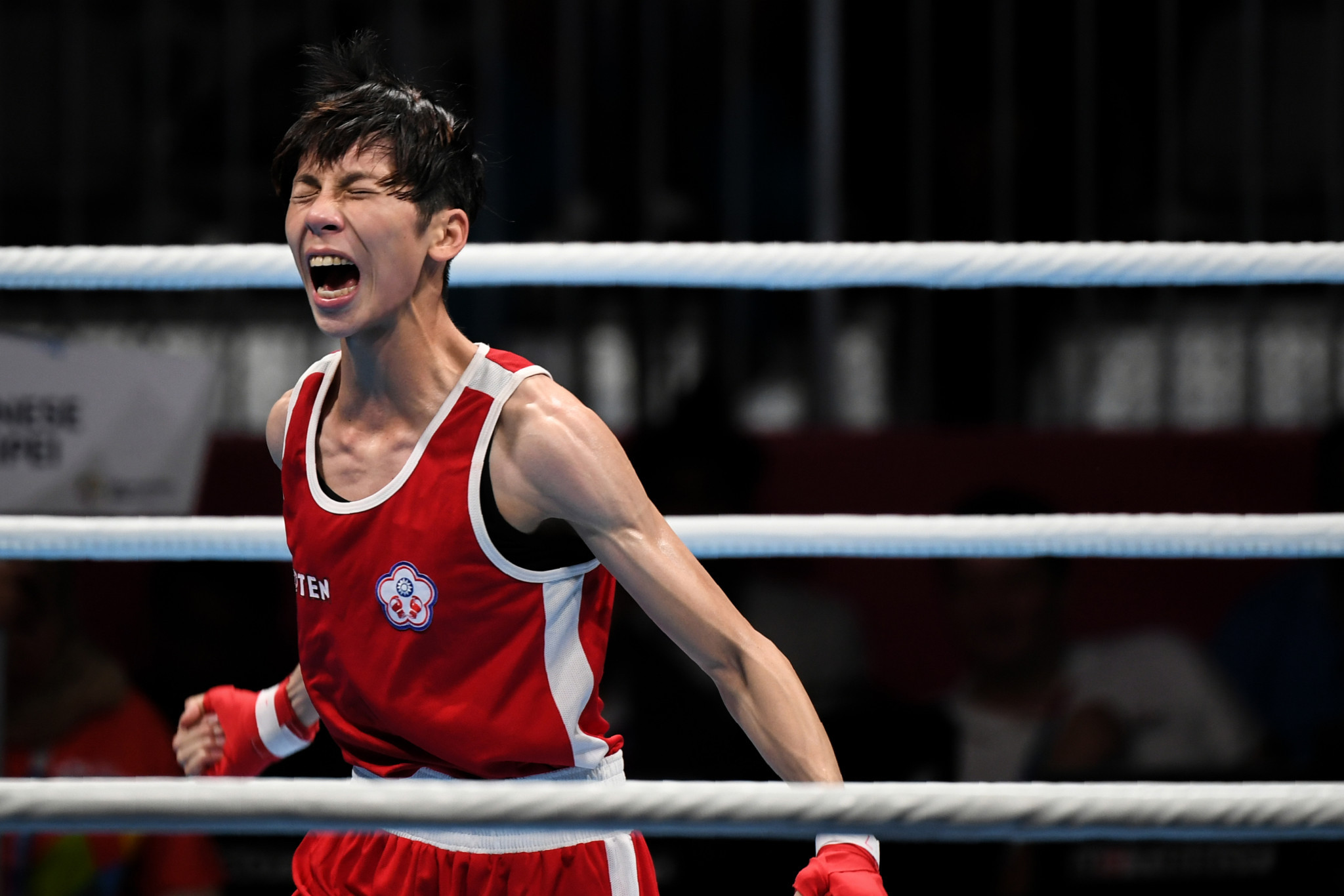 Asian featherweight champion Lin overcomes Nicolson at AIBA Women's World Championships
