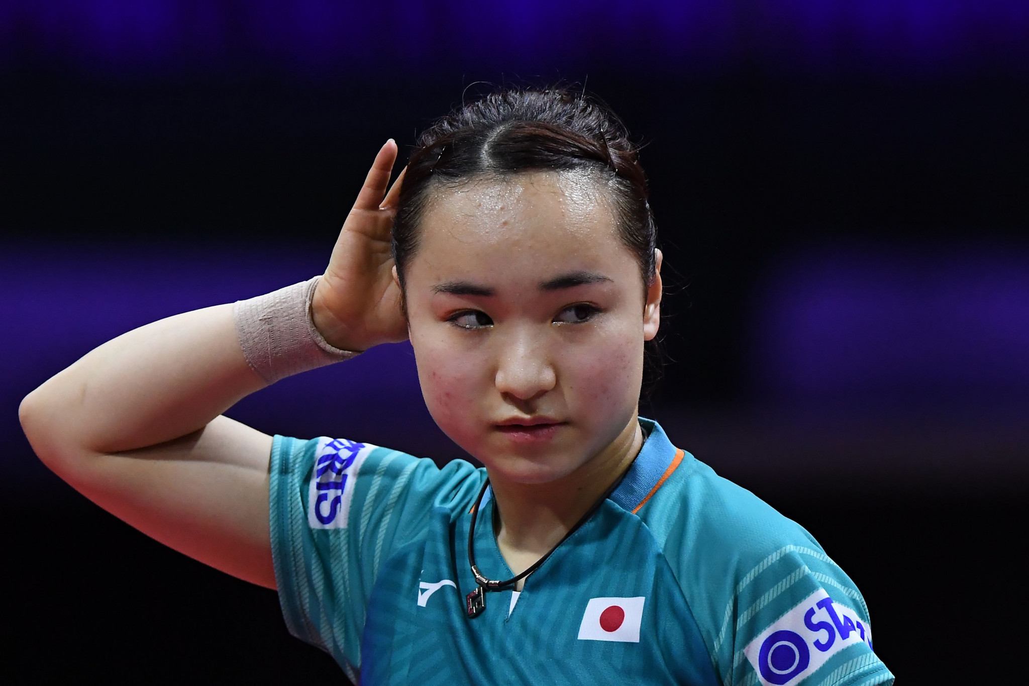 Japan's Mima Ito is the only non-Chinese player in the singles semi-finals ©Getty Images