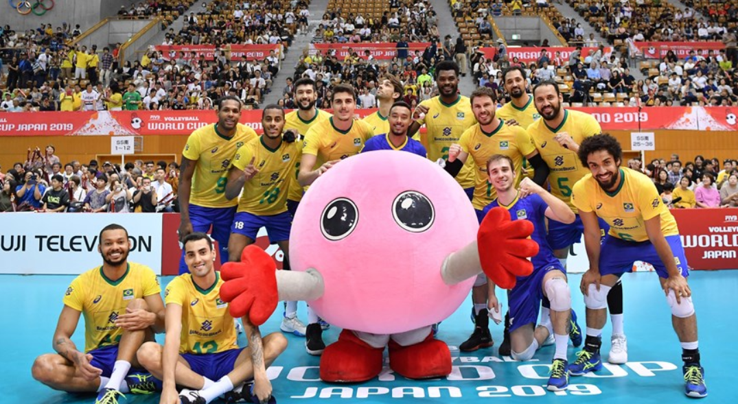 United States hang on to Brazil at FIVB Men's World Cup