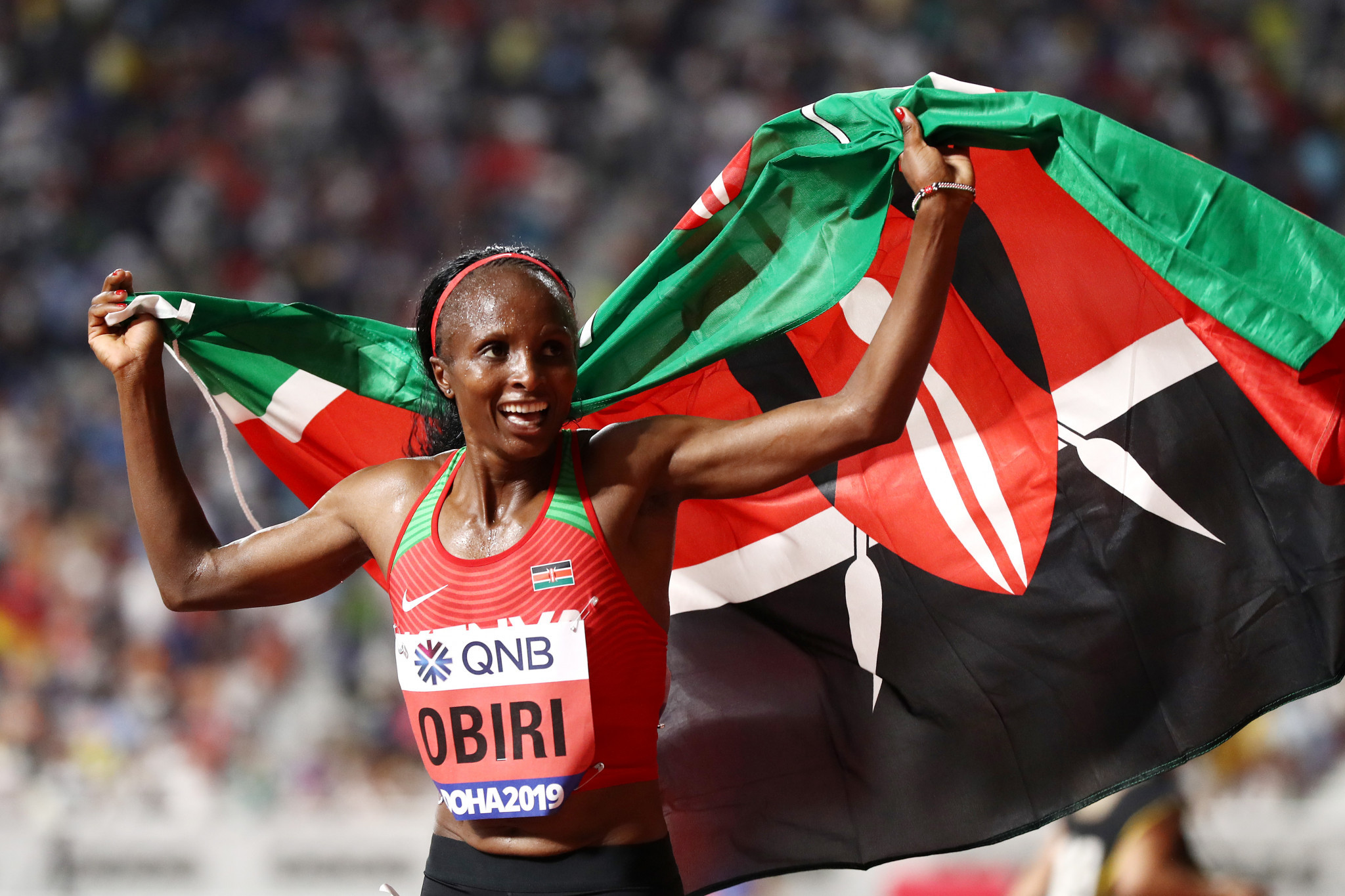 Kenya's athletes have performing superbly at the IAAF World Championships in Doha and are currently second in the medals table behind only the United States with four gold ©Getty Images