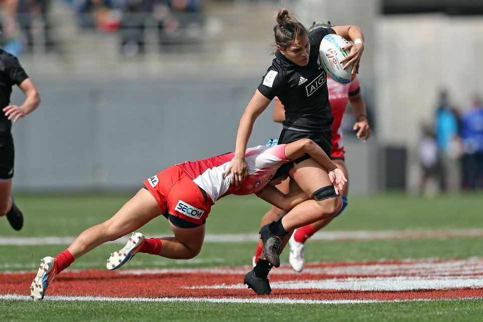New Zealand start strong on day one of World Rugby Women's Sevens Series