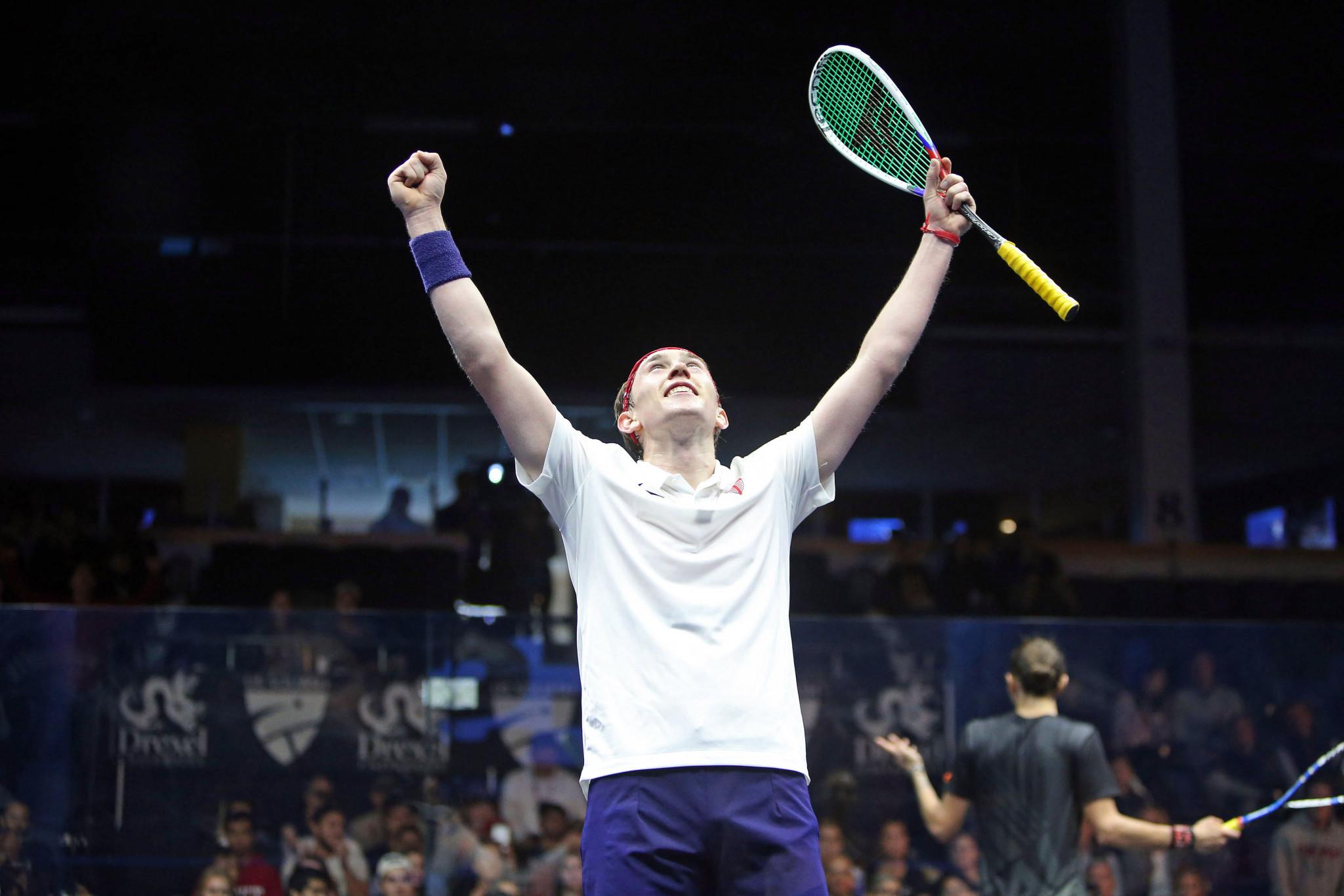 Home favourite Douglas stuns Serme at PSA U.S. Open