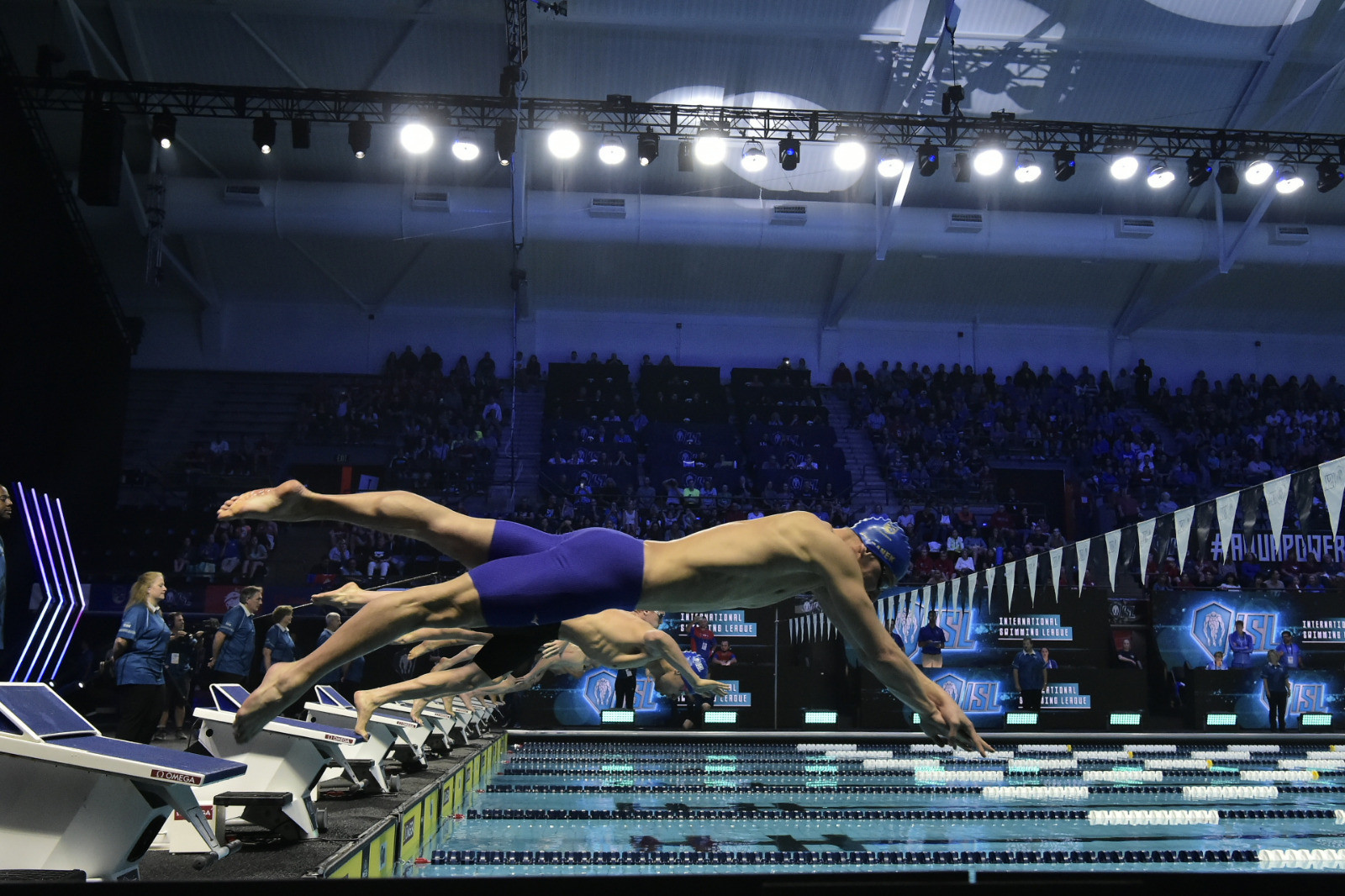 Sjöström and Le Clos shine as International Swimming League begins