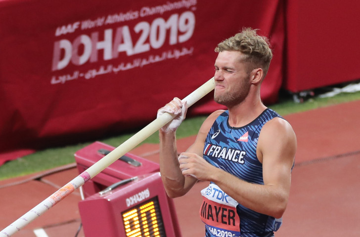 France's world decathlon record-holder Kevin Mayer, forced to pull out of the World Championships through injury, is championing the cause of multi-events to be included in the future IAAF Diamond League format ©Getty Images