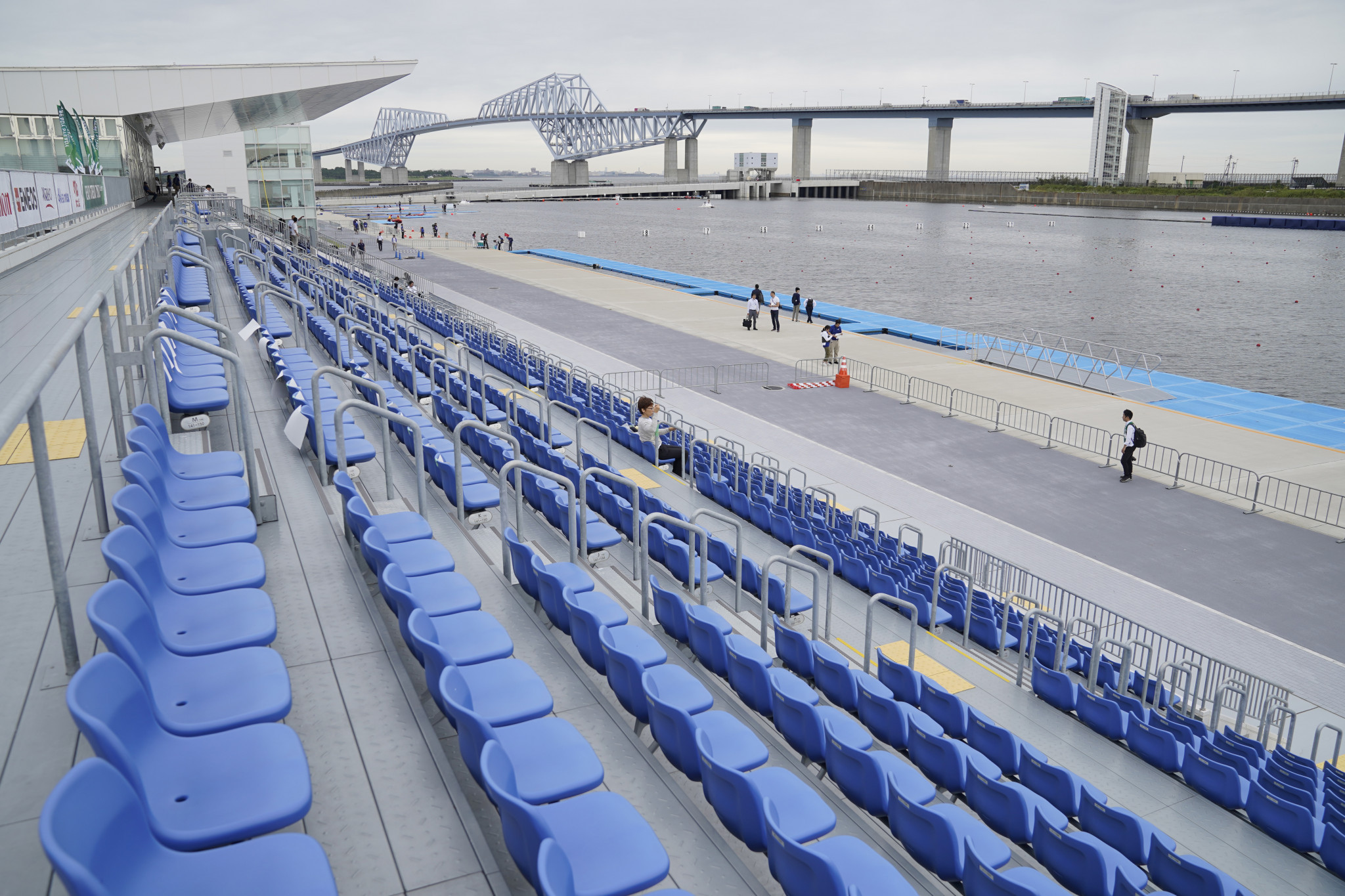 Security staff will monitor venues during next year's Olympic Games in Tokyo ©Getty Images