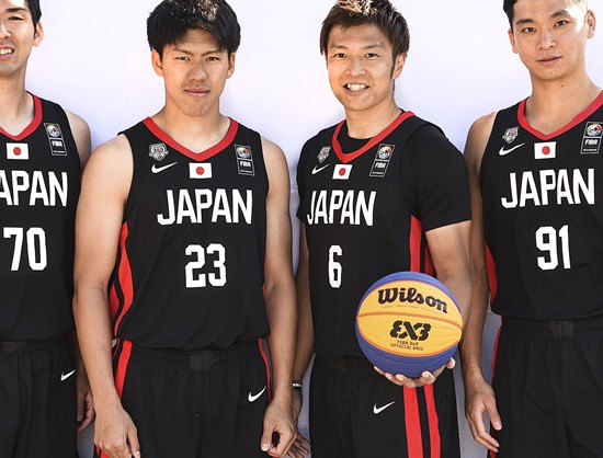 Japan's men are in line to claim the only available automatic 3x3 berth for the host nation ©FIBA