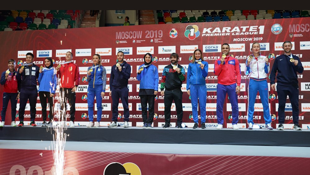 Zaytseva stuns Uekusa to claim home gold at Karate 1-Premier League in Moscow