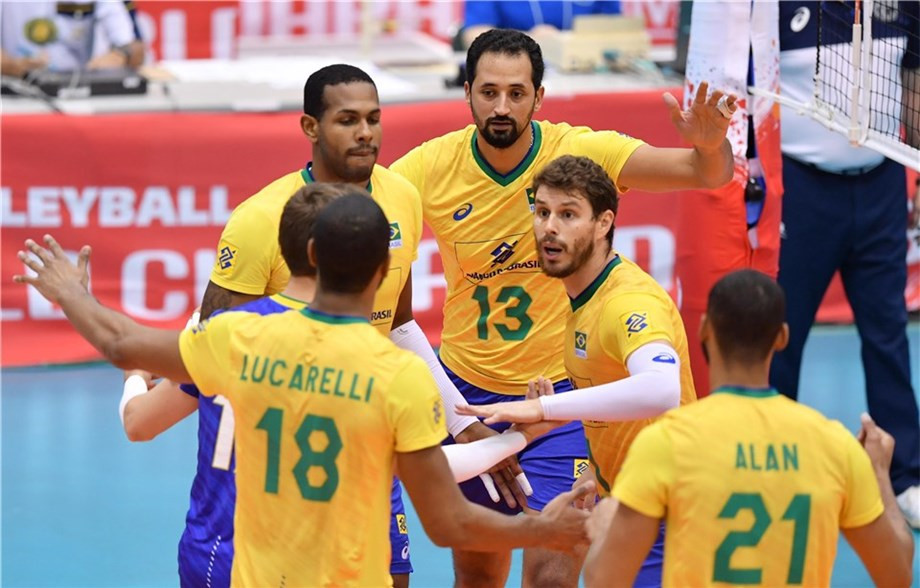 Brazil keep perfect record alive at FIVB Men's World Cup