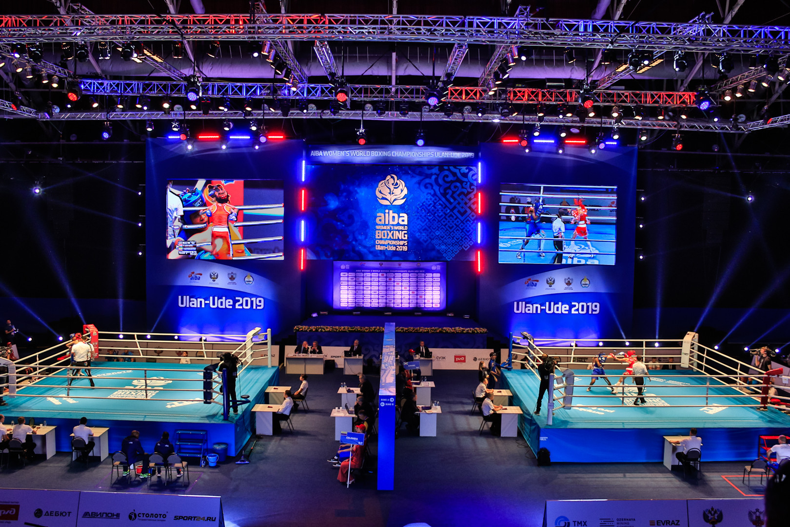 Competition continues tomorrow with the light flyweight and light welterweight ©AIBA