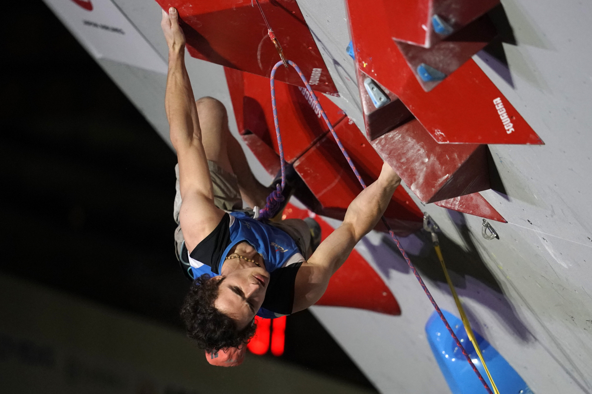 The Czech Republic's Adam Ondra secured the men's honours in the lead competition at the IFSC European Championships in Edinburgh ©Getty Images