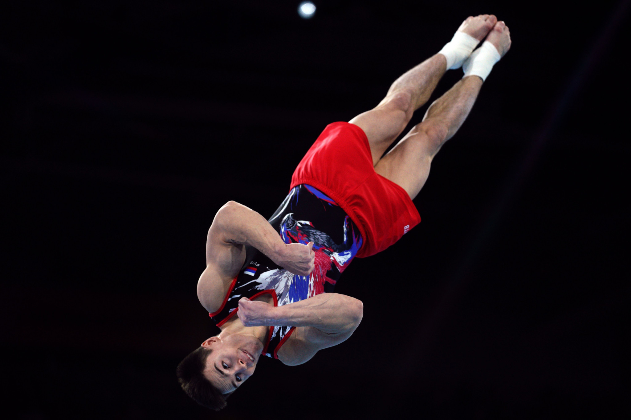 Nagornyy tops men's all-around qualifying at Artistic Gymnastics World Championships