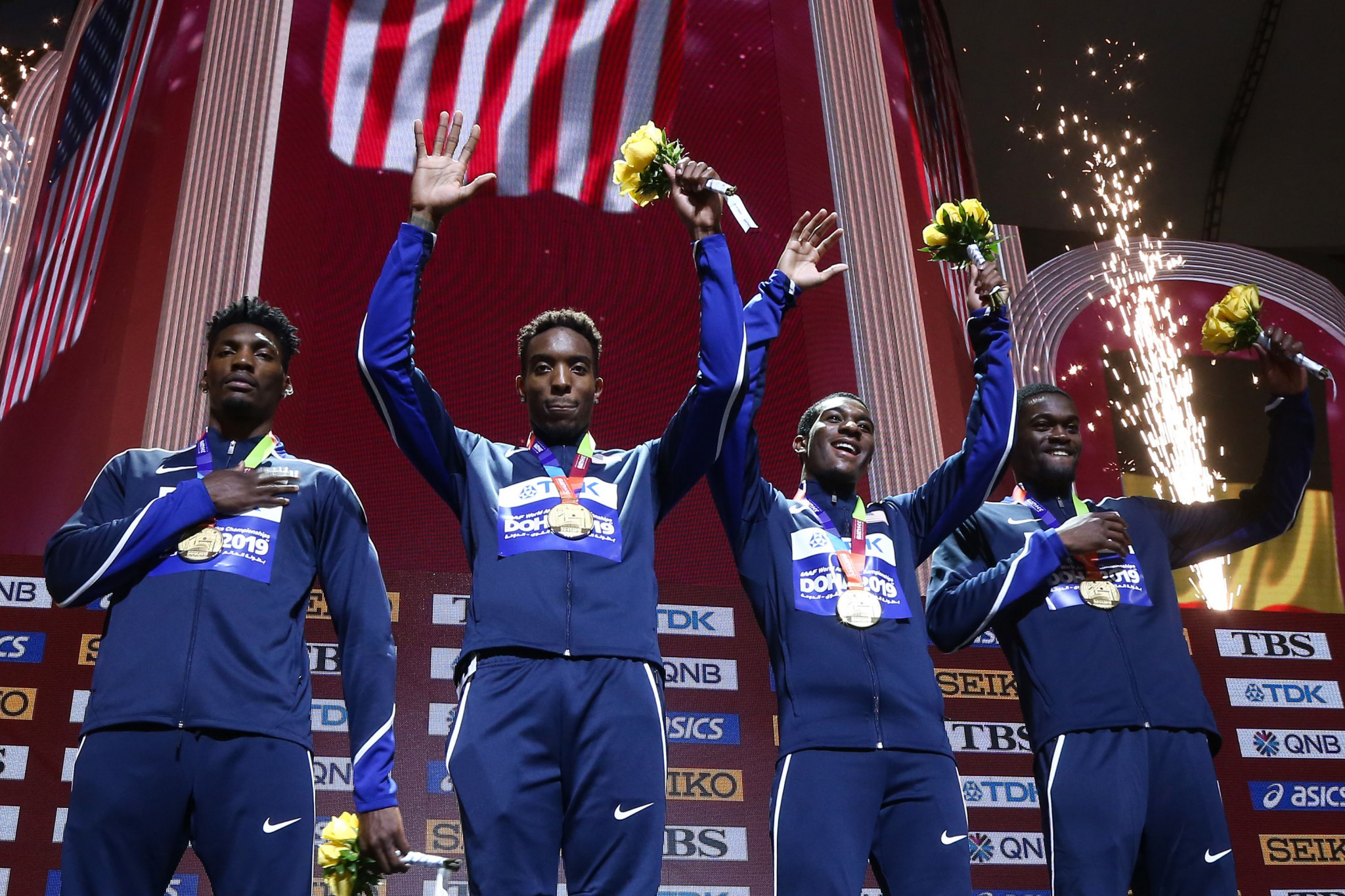US top medal table at IAAF World Championships in Doha as Mihambo takes flight in long jump