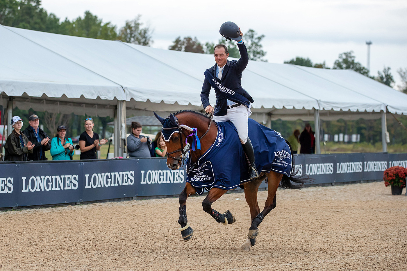 Granato heads American 1-2-3 at FEI Jumping World Cup in Columbus