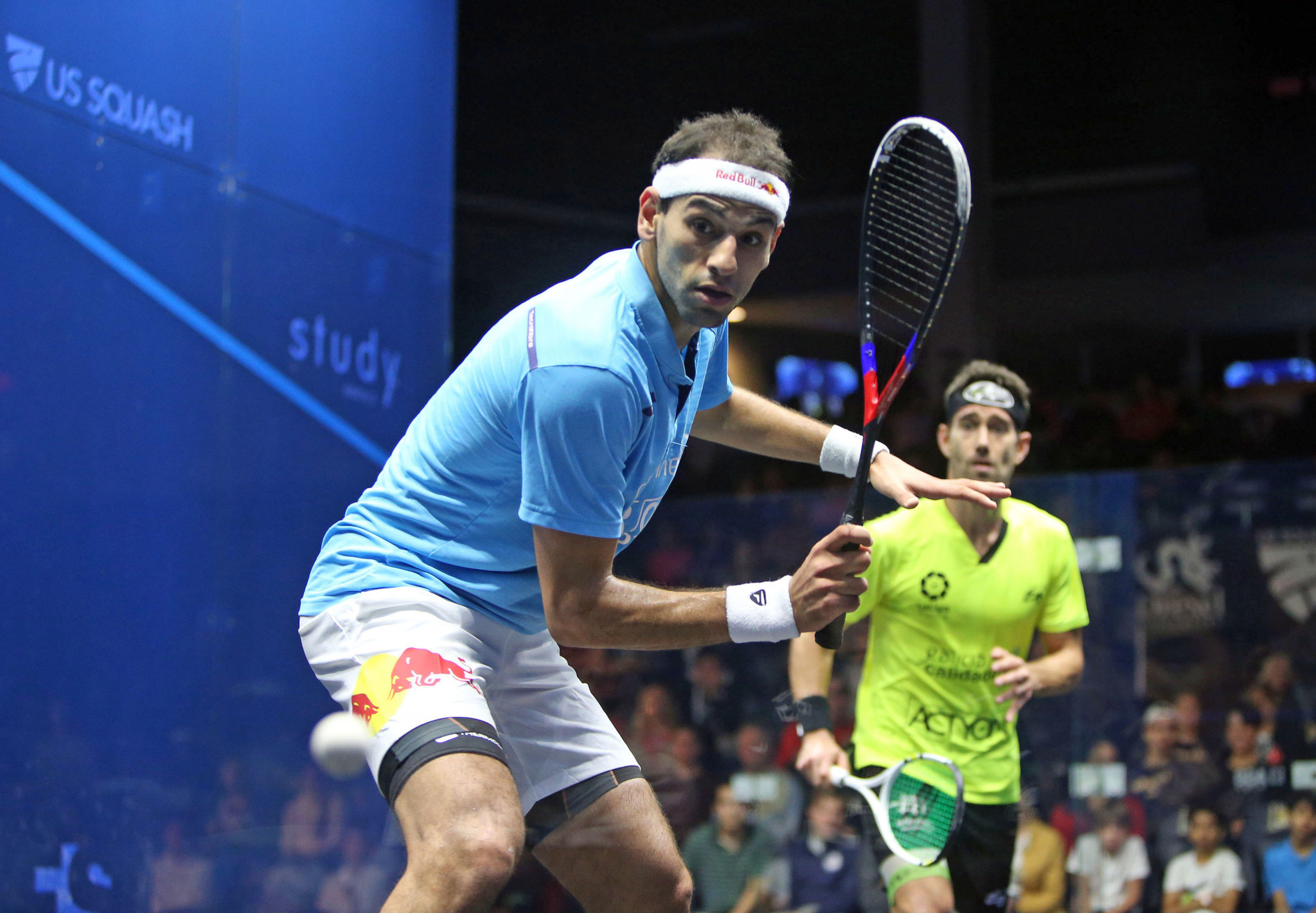 ElShorbagy remains on course for fourth PSA U.S. Open title in Philadelphia