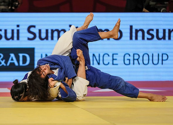 Portuguese judoka Catalina Costa won the women's under-48kg contest in Brasilia ©IJF