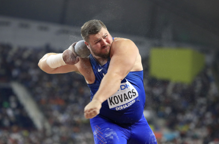 Using the IAAF points system, Joe Kovacs of the United States produced the best result of the IAAF World Athletics Championships Doha 2019 with his shot put of 22.91m ©Getty Images