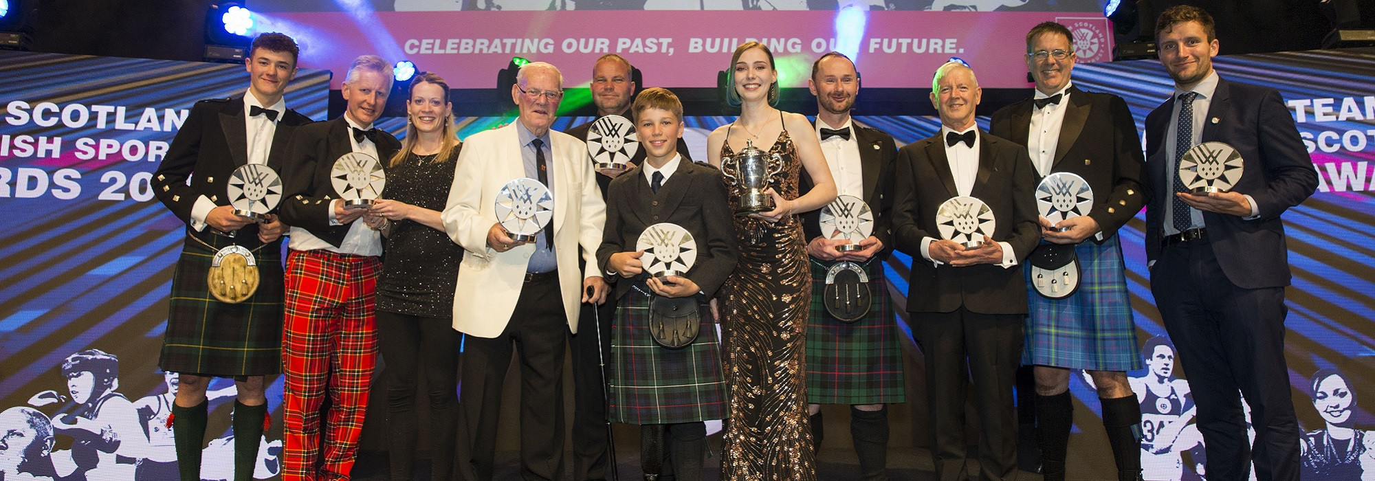 A number of prizes were handed out at the Team Scotland Scottish Sports Awards ©Team Scotland