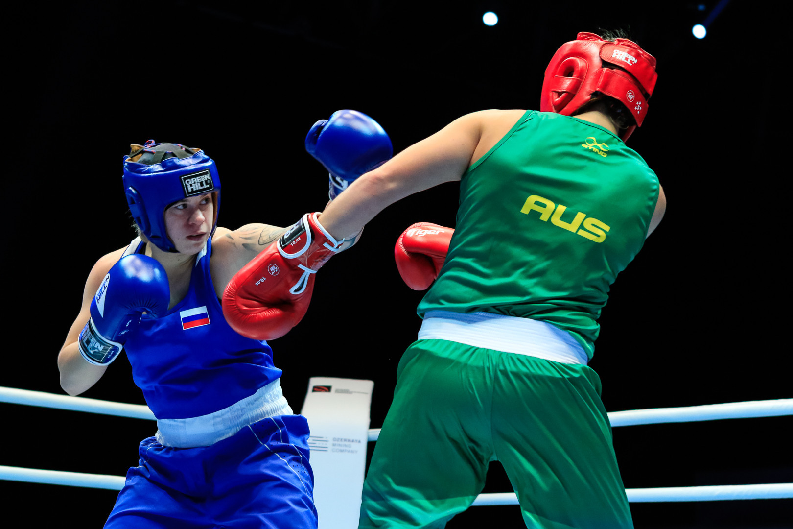 Young talent Dynnik continues Russian success at AIBA Women's World Boxing Championships