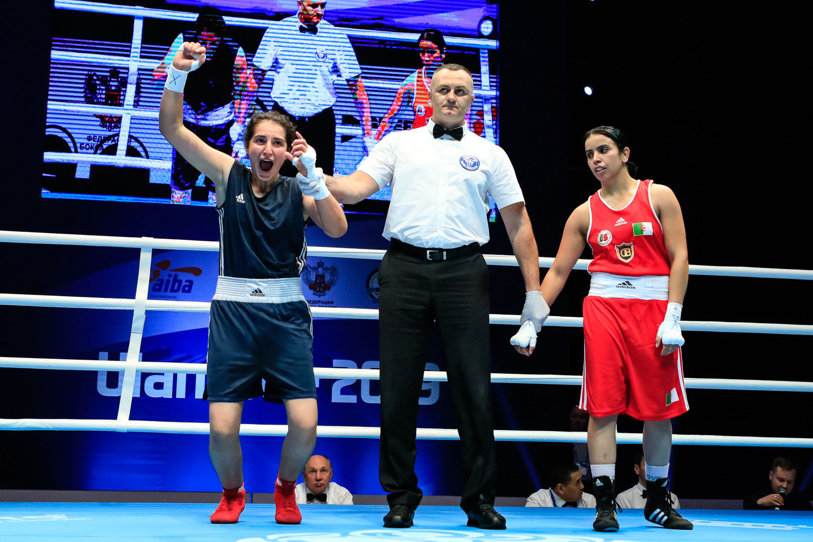 Delight as light welterweight boxers reach AIBA Women's World Championship quarter-finals