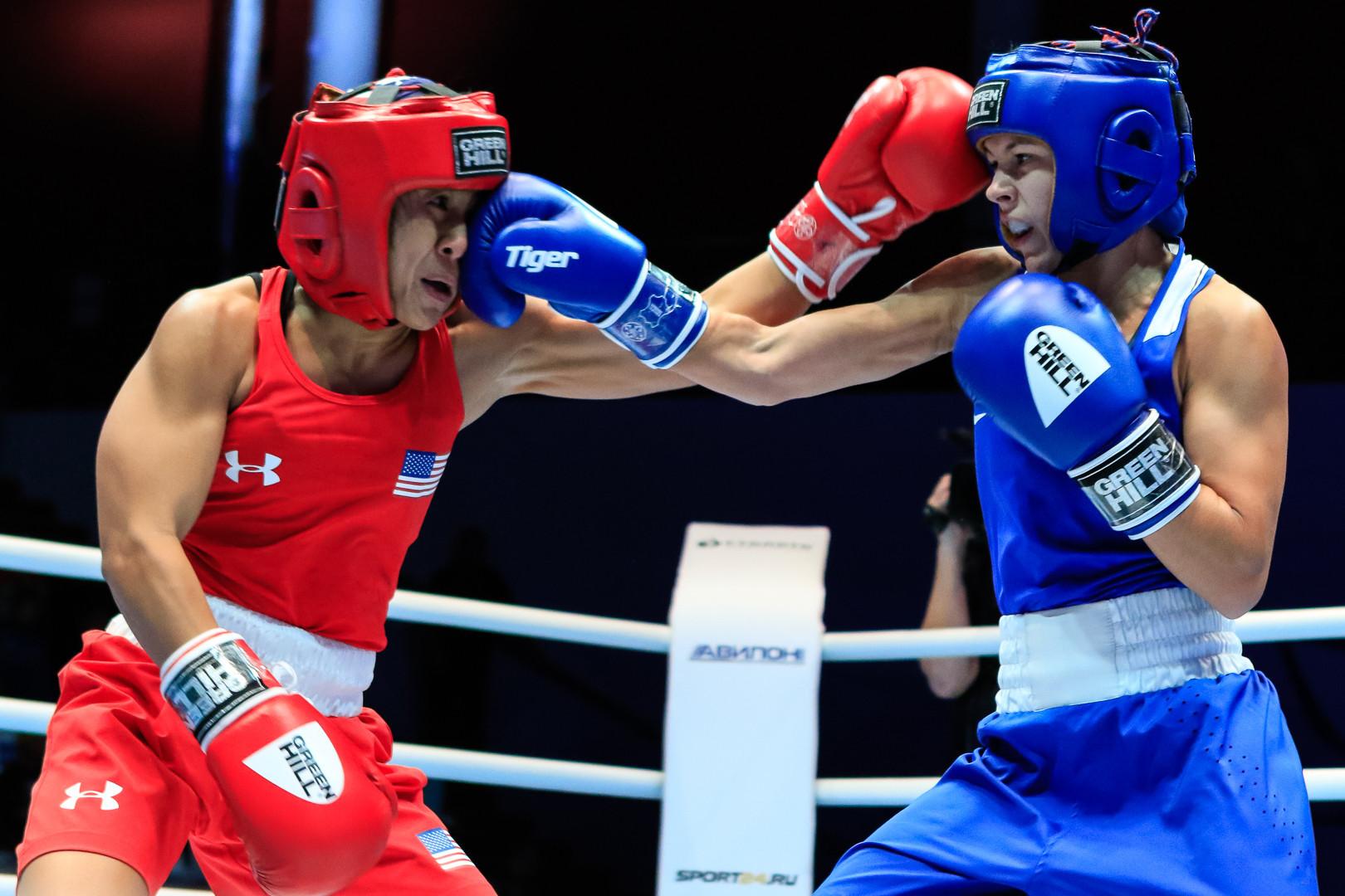 Paltceva triumphed 4-1 ©AIBA