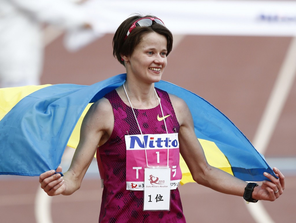 Tetyana Shmyrko set a Ukrainian record of 2:22:09 when she won this year's Osaka International Ladies Marathon but has now been stripped of the performance