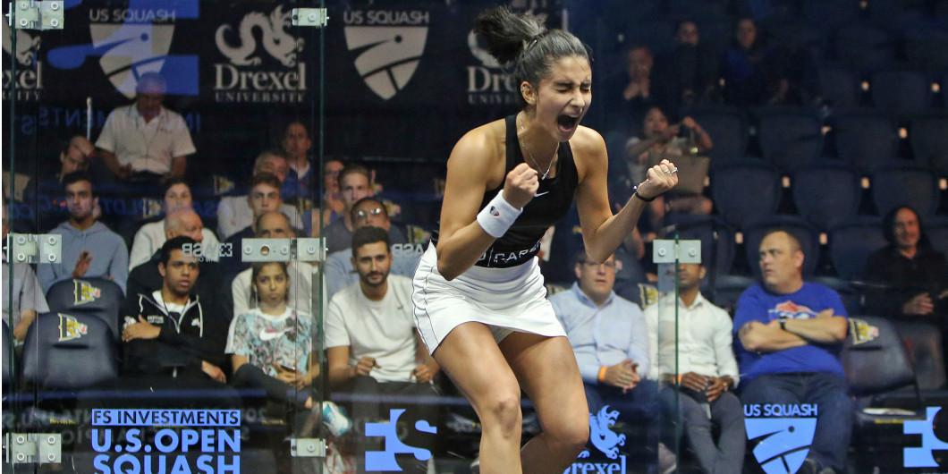 Elaraby stuns King to reach quarter-finals at PSA US Open