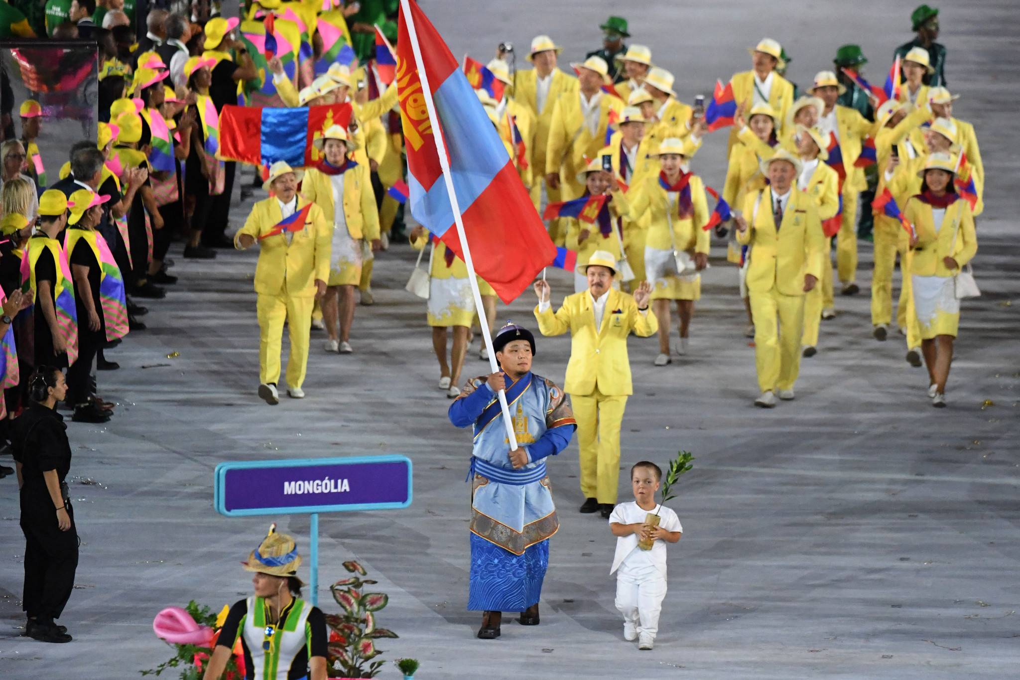 Mongolia National Olympic Committee award 17 athlete scholarships for Tokyo 2020