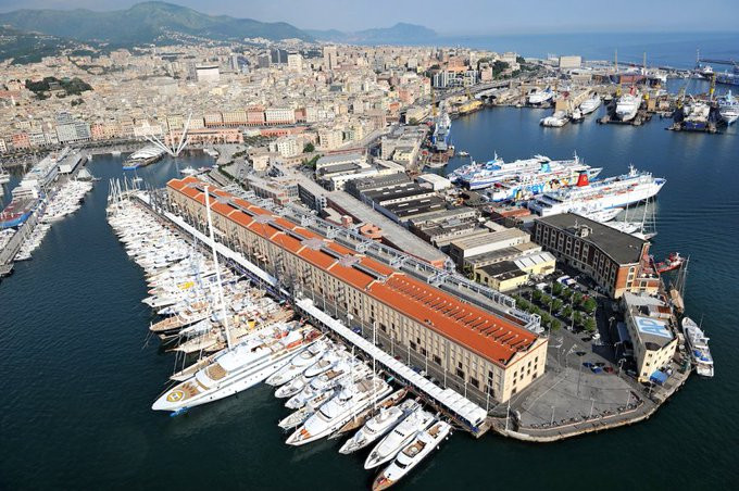 The 2021-2022 edition of The Ocean Race is scheduled to finish in Italian city Genoa ©The Ocean Race/Twitter