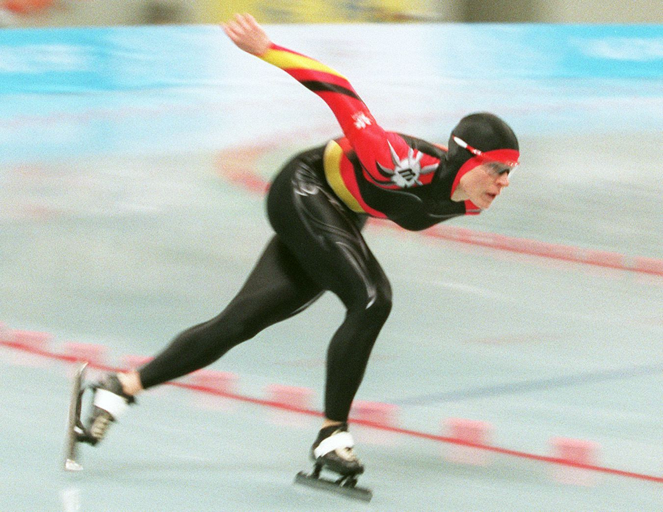 Gunda Niemann-Stirnemann, one of the most successful speed skaters of all time, is among a trio of new inductees into Germany's Sports Hall of Fame ©Getty Images