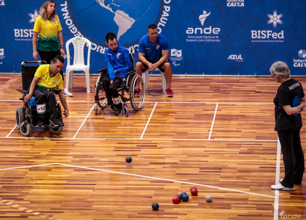 Argentinian clinches shock victory at Boccia America Regionals